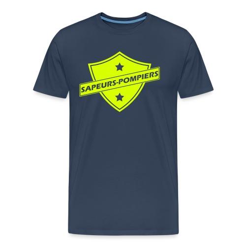blason sapeurs-pompiers - T-shirt Premium Homme