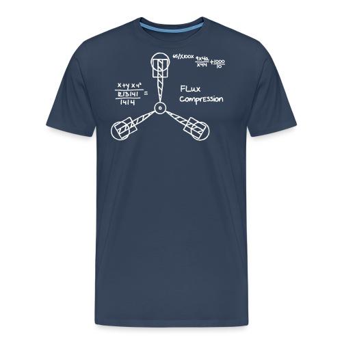 flux compensator - Männer Premium T-Shirt