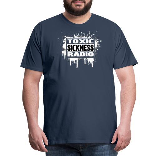 TOXIC SICKNESS RADIO LOGO - Men's Premium T-Shirt