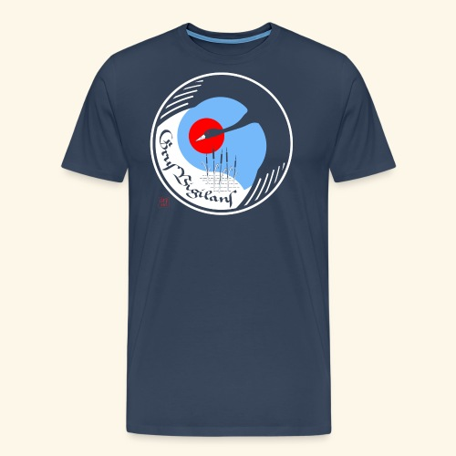 Grus Vigilans - Männer Premium T-Shirt