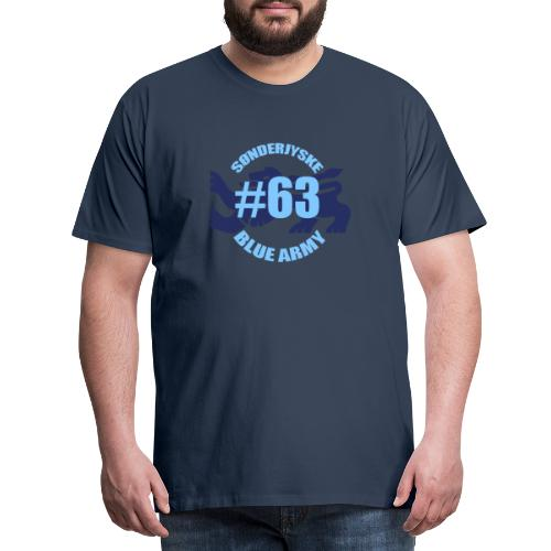 SOENDERJYSKE BLUE ARMY - Herre premium T-shirt