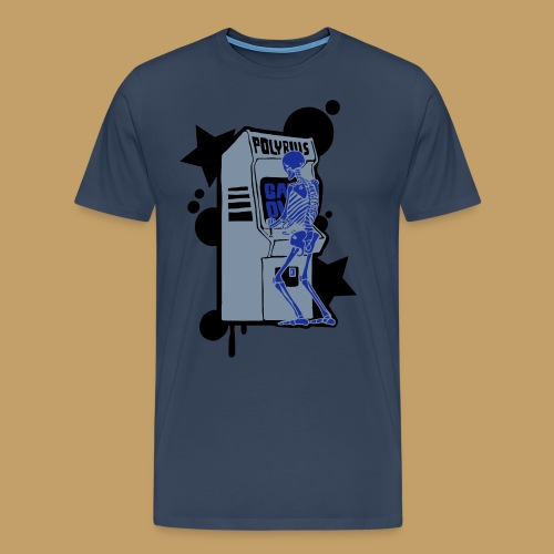 Hi-Score Silver X-ray - Koszulka męska Premium