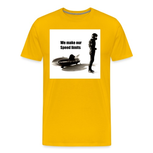 speed limits - T-shirt Premium Homme