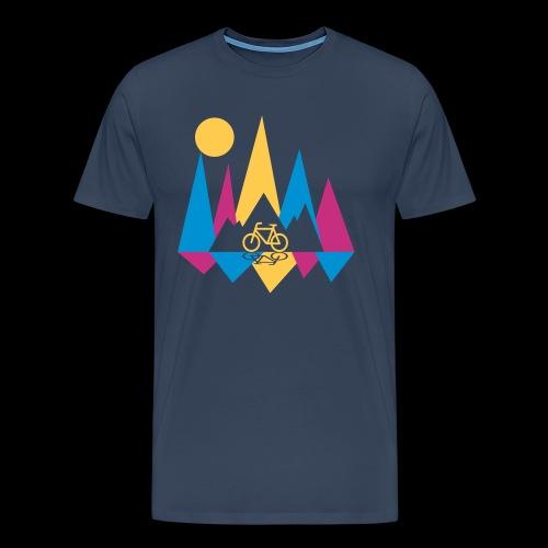 Mountain Bike - Männer Premium T-Shirt