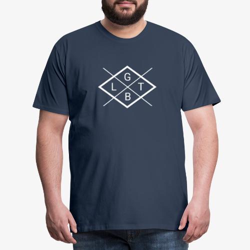 LGBT Swag II B / W white - Men's Premium T-Shirt