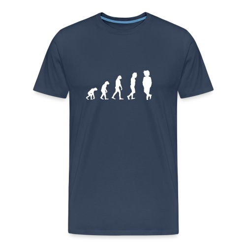 Markustery´s Evolution Tasse - Männer Premium T-Shirt