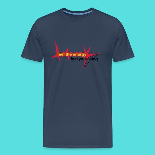 feel_the_energy - Männer Premium T-Shirt