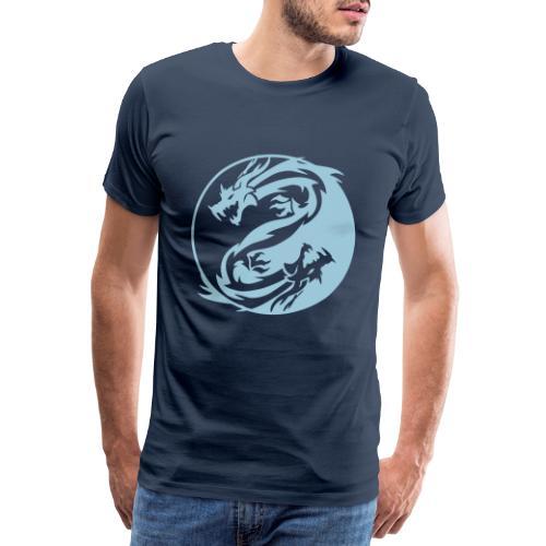 Yin & Yang - Maglietta Premium da uomo