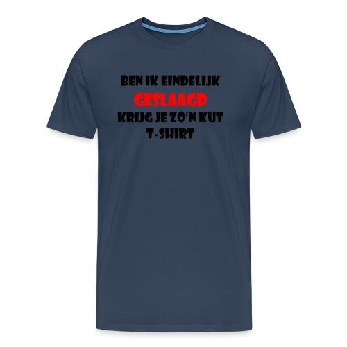 Geslaagd png - Mannen Premium T-shirt