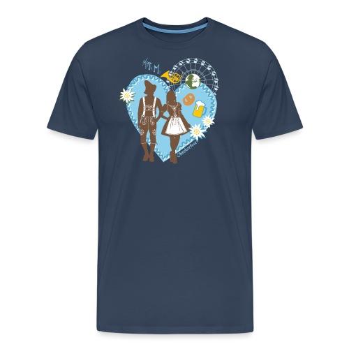 Oktoberfest_Trachtenpar 2 - Männer Premium T-Shirt