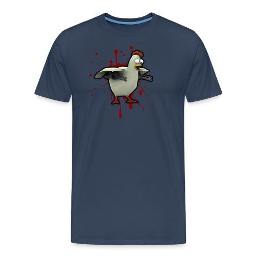 chickenlargeblood - Men's Premium T-Shirt
