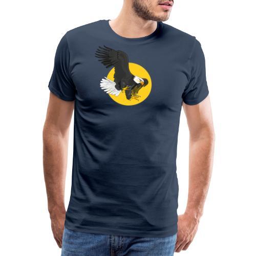 american eagle sun - Mannen Premium T-shirt