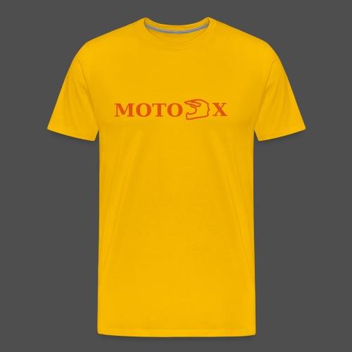 moto x - Koszulka męska Premium