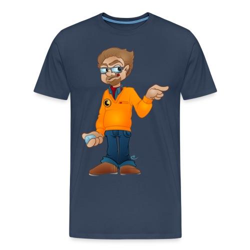 coma colour png - Herre premium T-shirt