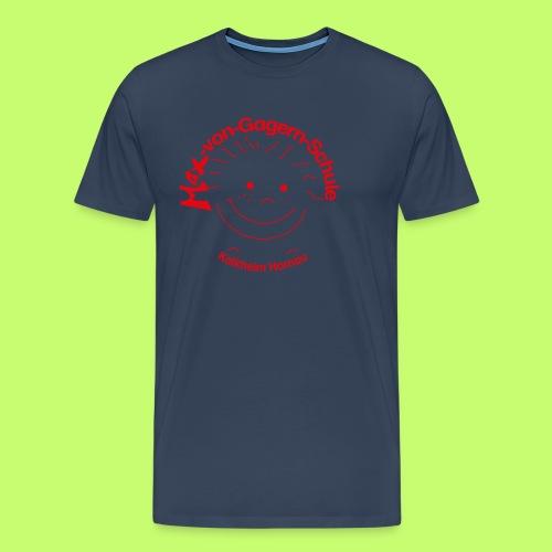Mäxchen Logo rot - Männer Premium T-Shirt