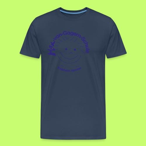 Mäxchen Logo blau - Männer Premium T-Shirt