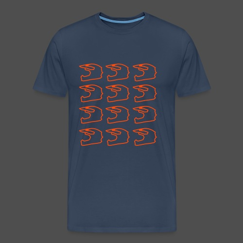 Kask krzyżowy 12 - Koszulka męska Premium