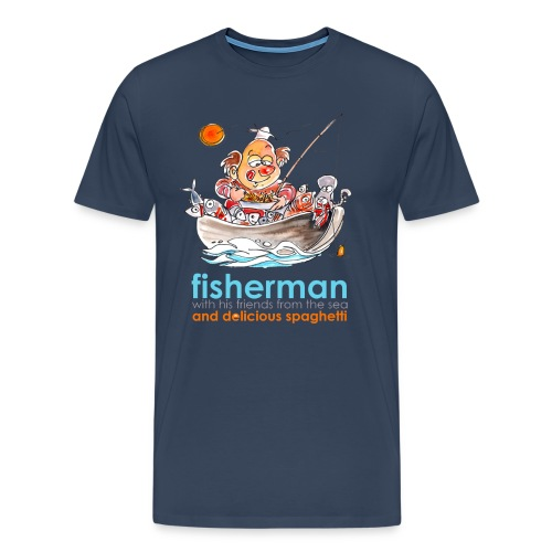 Fisherman - Maglietta Premium da uomo