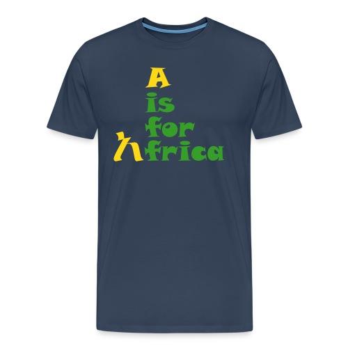 aisforafrica2 - Men's Premium T-Shirt