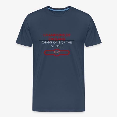 CHAMPIONS OF ENGLAND, CHAMPIONS OF THE WORLD - Men's Premium T-Shirt