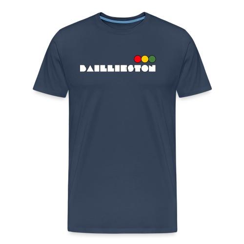 baillieston white - Men's Premium T-Shirt
