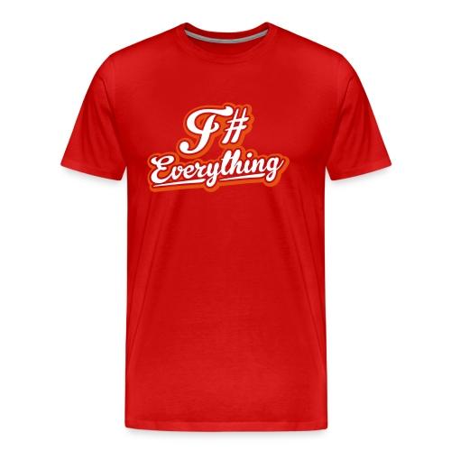 F# Everything - Men's Premium T-Shirt