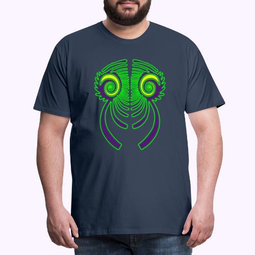 Fractal Dragon 3 color 2 - Men's Premium T-Shirt