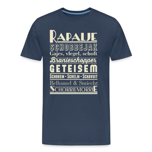 Rapalje - Mannen Premium T-shirt