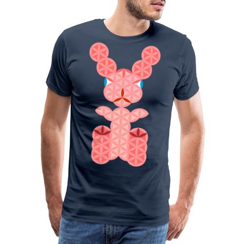 The Rabbit Of Life - Sacred Animals - Men's Premium T-Shirt