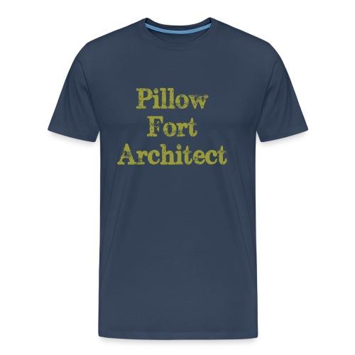 Pillow Fort Architect - Men's Premium T-Shirt
