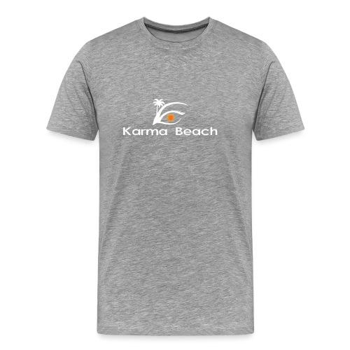 KaramaBeachLogoTs png - Camiseta premium hombre