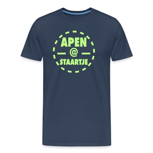 Apenstaartje Merchandise 2 png - Mannen Premium T-shirt