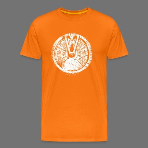 Maschinentelegraph (white oldstyle) - Men's Premium T-Shirt