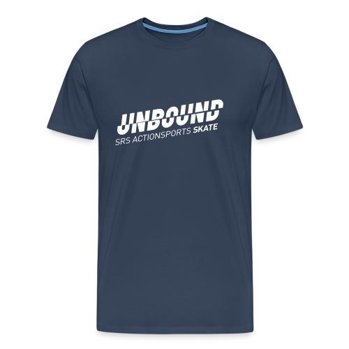 UNBOUND_SKATE_WEISS - Männer Premium T-Shirt