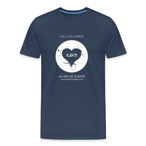 Live Love Dance White - Men's Premium T-Shirt
