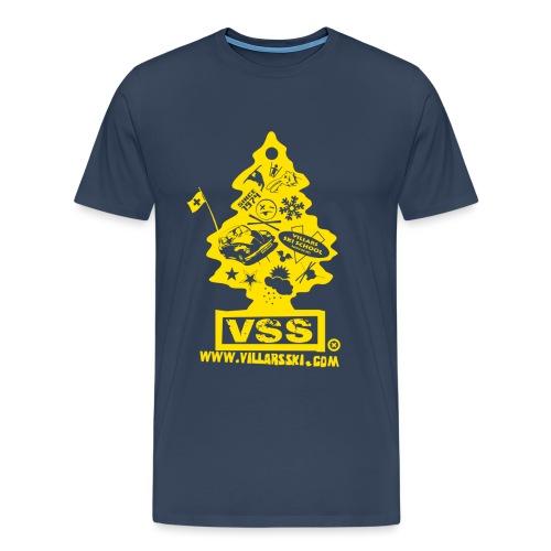 Logo sapin jaune png - T-shirt Premium Homme