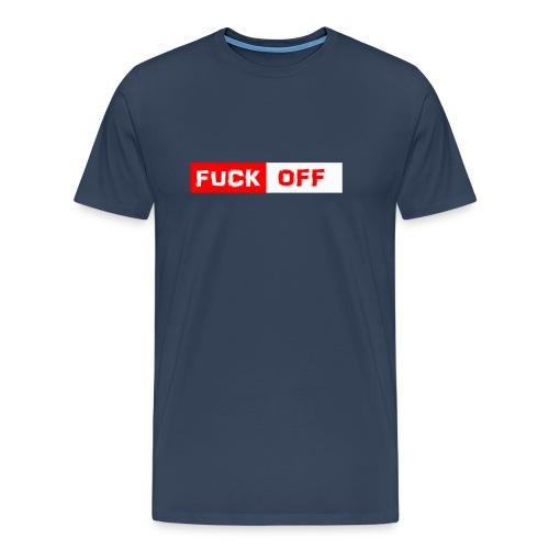 FUCK off Shirt Comic Style - Männer Premium T-Shirt