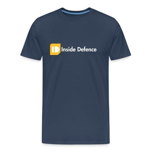 Logo_CMYK_orange_whitetex - Mannen Premium T-shirt