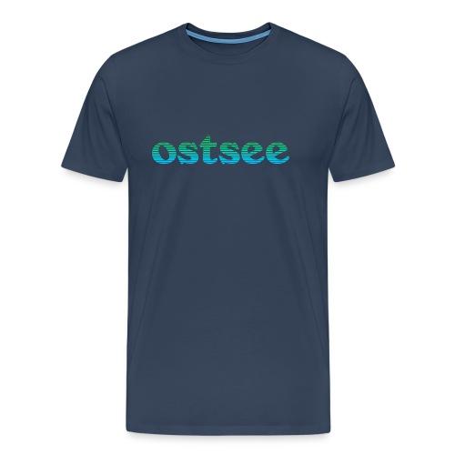 Ostsee Streifen - Männer Premium T-Shirt
