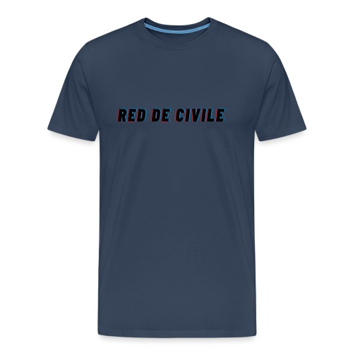 RED DE CIVILE main logo - Herre premium T-shirt