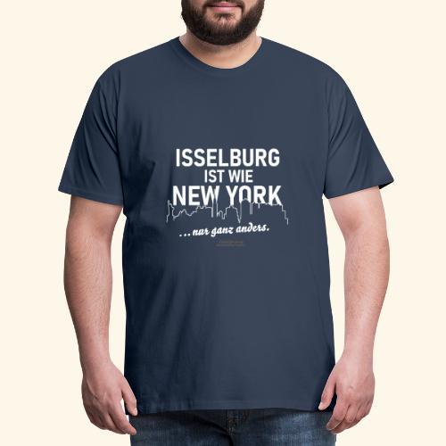 Isselburg 👍 ist wie New York 😁 - Männer Premium T-Shirt