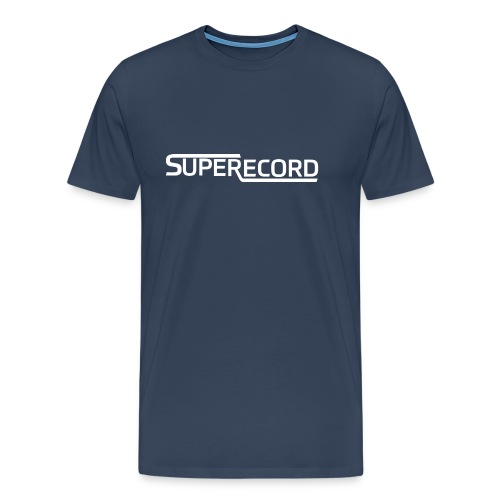 Superrecord White - Männer Premium T-Shirt
