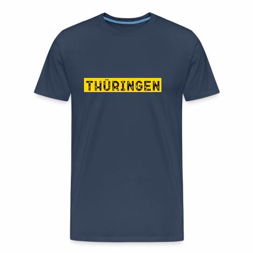 Thüringen Schrift - Männer Premium T-Shirt
