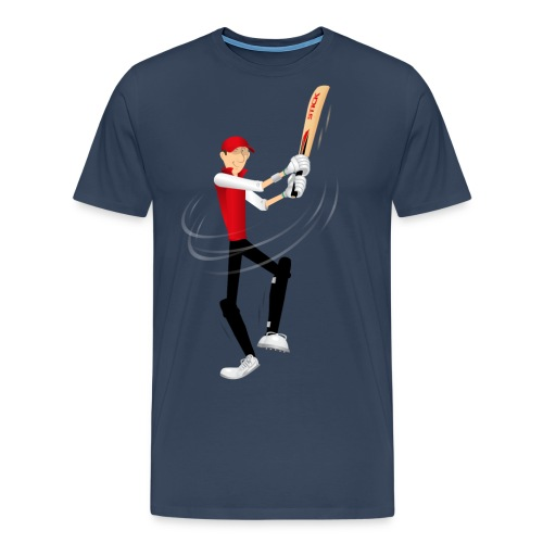 Cricket Sticky - Men's Premium T-Shirt
