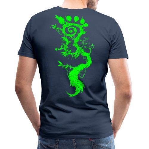 FootMoss green - Men's Premium T-Shirt