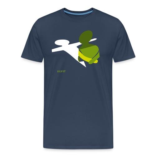 BEFIT_gr.png - Mannen Premium T-shirt