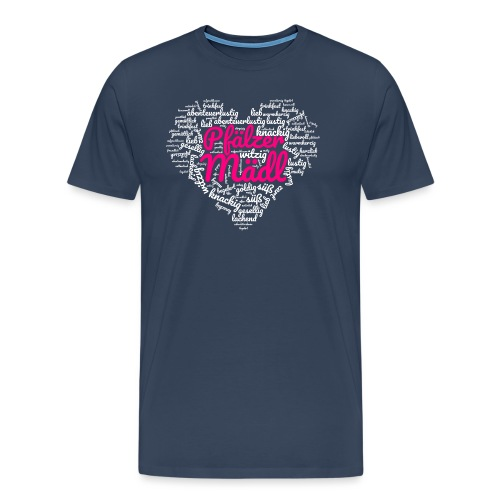 Herzl: Pfälzer Mädl - Männer Premium T-Shirt