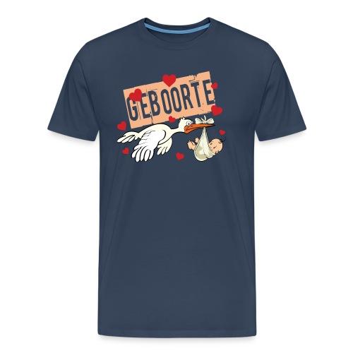 Geboorte Baby - Men's Premium T-Shirt
