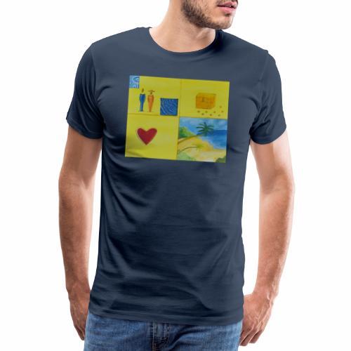 Viererwunsch - Männer Premium T-Shirt