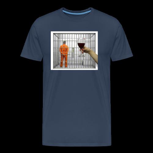 TRISH02 png - Men's Premium T-Shirt